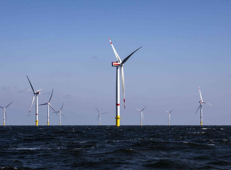 Project Certification for Rentel offshore wind farm