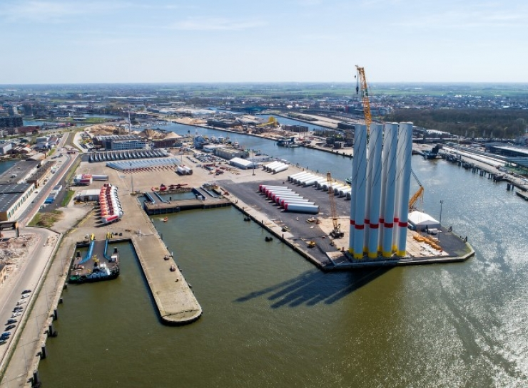 Rentel NV installeert 42 windturbines in de Noordzee
